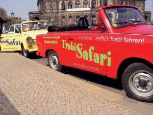 Trabi-Safari in Dresden